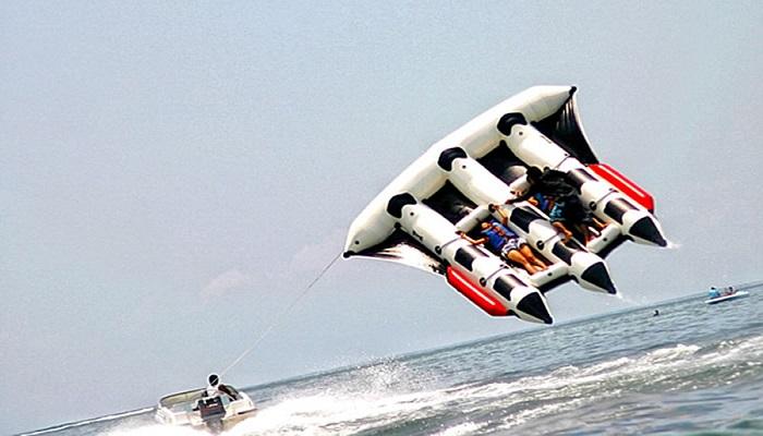 fly fish water sport in bali