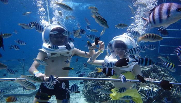 bali water sport seawalker
