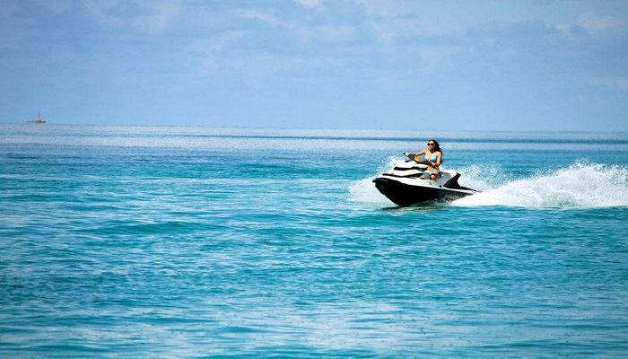 water sport activities at tanjung benoa