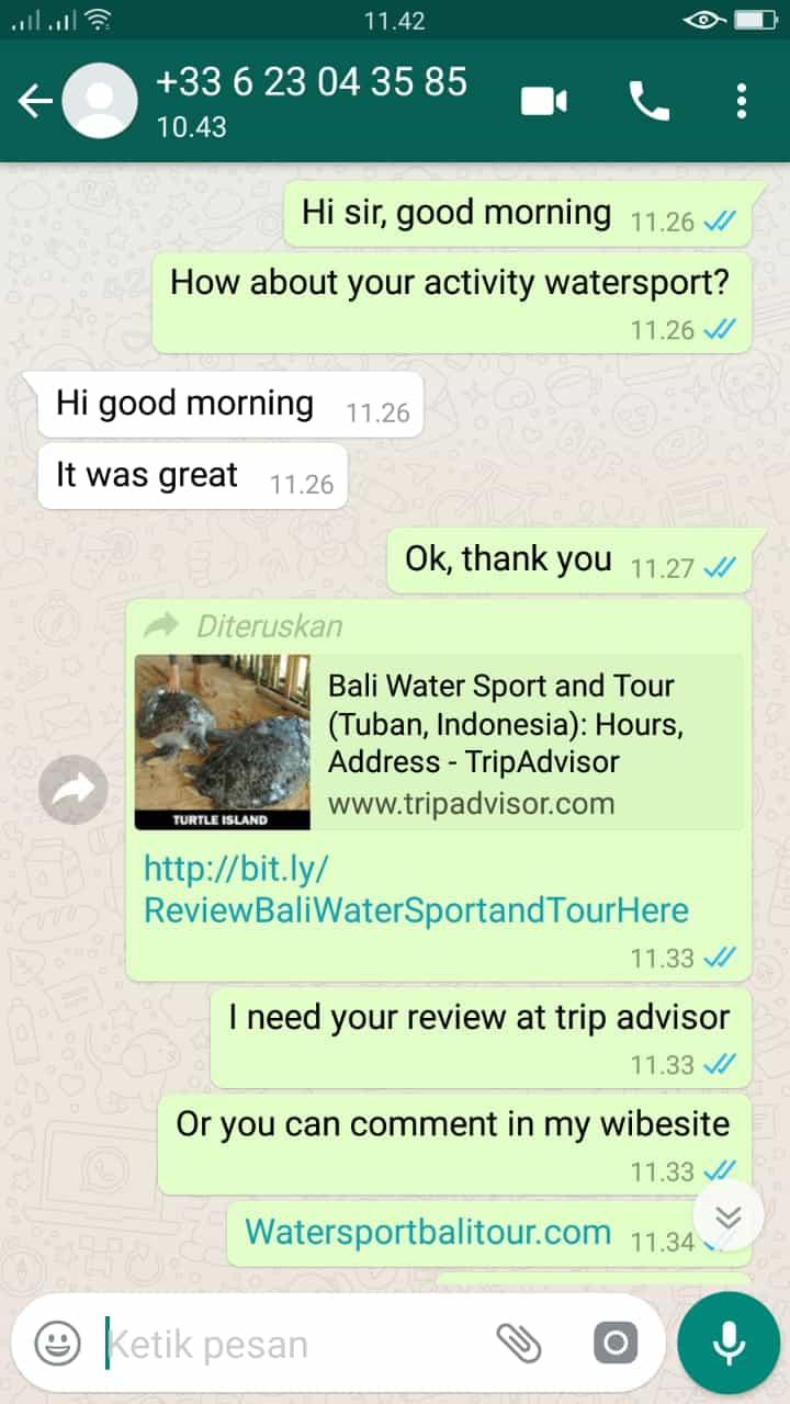 galeri 5 testimoni - watersportbali